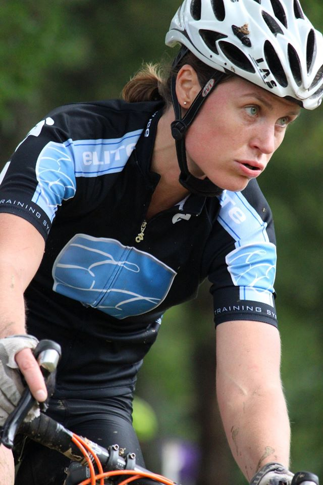 Kristine Contento Angell Nittany, working hard
