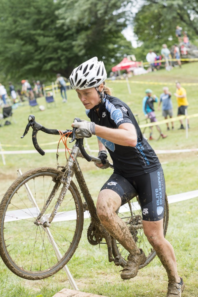 Kristine Contento Angell at Nittany CX