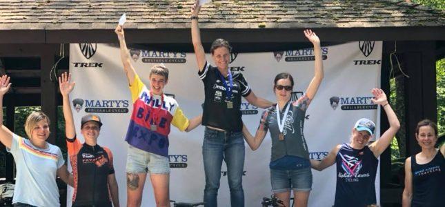 Kristine Contento-Angell 2018 Lewis mOrris Challenge, Pro-Open Women's field XC