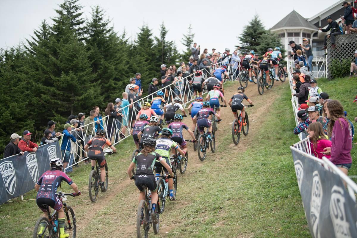 usa cycling 2018 nationals WV, start climb