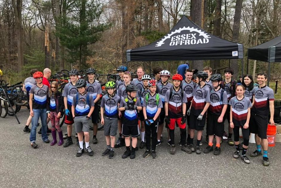 Kristine Contento-Angell coaching Essex Offroad & Verona Offroad youth MTB teams